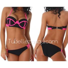 Bikini push up copas varios colores